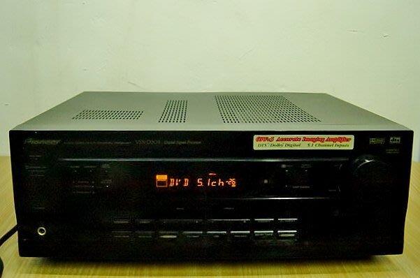 保固3個月【小劉2手家電】PIONEER 5.1聲道擴大機,可聽FM,VSX-D309型,壞機可修理/回收!