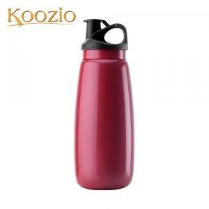 Koozio動感水瓶1000ml (紫嫣紅) (不鏽鋼水瓶/水壺 /不銹鋼杯/ 隨手杯/ 環保杯) Koozio原廠專賣