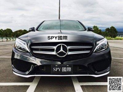 SPY國際 W205 AMG前保桿 C180 C250 C300 現貨