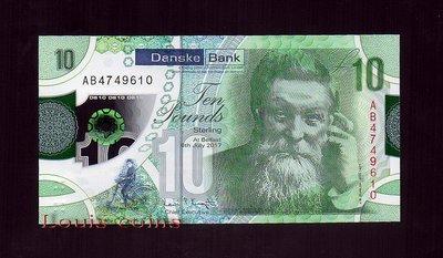【Louis Coins】B068-NORTHERN IRELAND-2017北愛爾蘭塑膠鈔.10 pounds