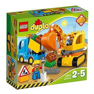 樂高LEGO 10812 卡車和挖掘車套裝 得寶大顆粒