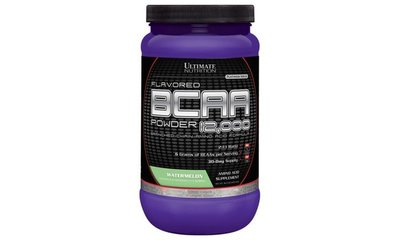 【UN經銷】Flavored BCAA 12,000/Watermelon 457g 西瓜支鏈胺基酸