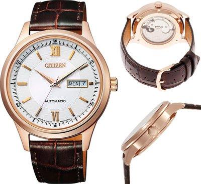 日本正版 CITIZEN 星辰 NY4052-08A 機械錶 手錶 男錶 日本代購