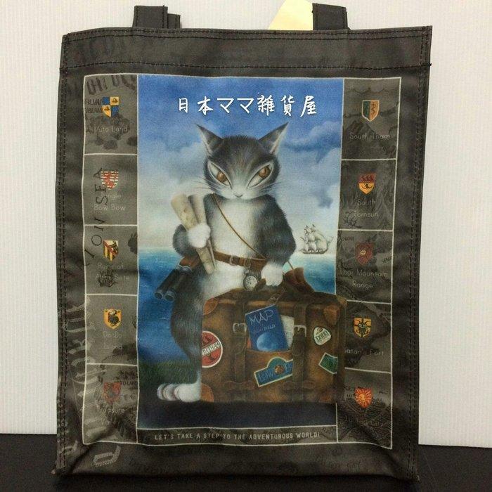 日本 wachifield 瓦奇菲爾德 純棉防水提袋/購物袋-全新品【日本帶回】日本製 全新品