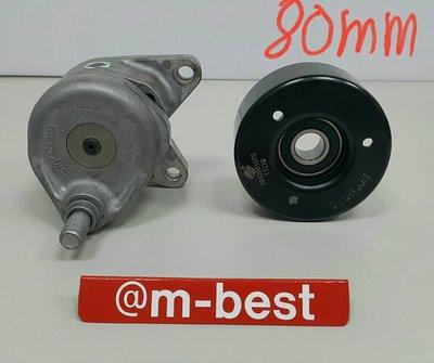 C208 W208 M111 ML 97-99 皮帶惰輪座 皮帶盤 輪子 (右邊 80m =盤+座)1042001070