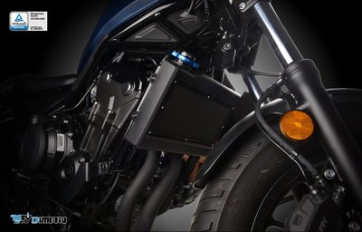 【R.S MOTO】HONDA REBEL500 基本款 水箱護網 水箱保護 網面黑 DMV