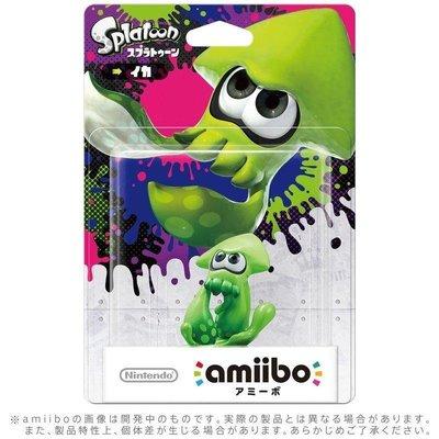 任天堂 AMIIBO NFC SWITCH NS 漆彈大作戰 綠色烏賊 SPLATOON INKLING SQUID