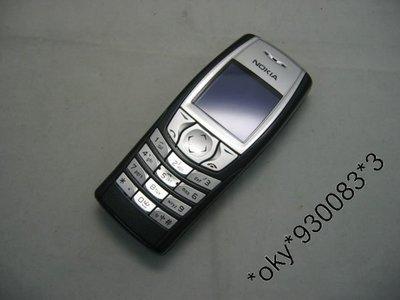 Nokia 6610i 彩屏拍照單手機(黑色)90%