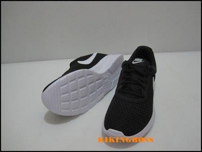 【喬治城】NIKE女款 WMNS NIKE TANJUN 慢跑鞋(黑白)812655011