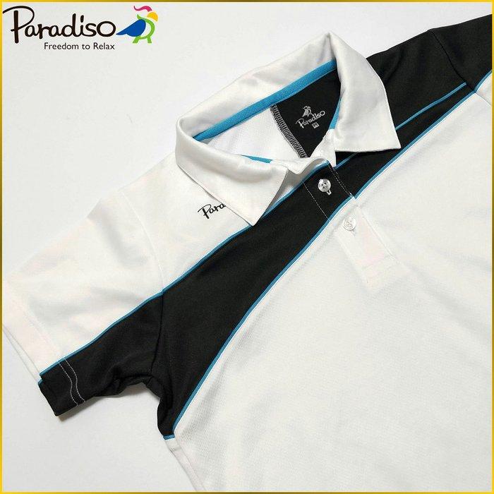 日本二手衣✈️PARADISO 日本製 短袖 POLO衫 GOLF 高爾夫運動 吸濕排汗衫 女 M号 A1391P