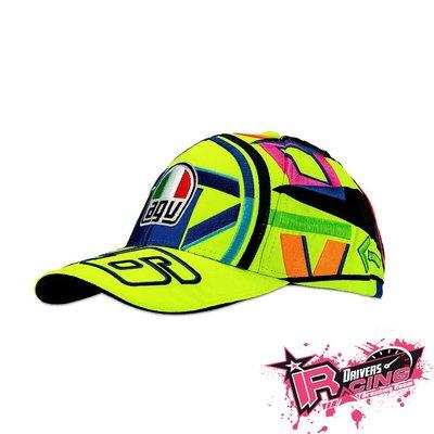 ♚賽車手的試衣間♚ VR46 Rossi 46 HELMET REPLICA CAP 網帽 賽車帽