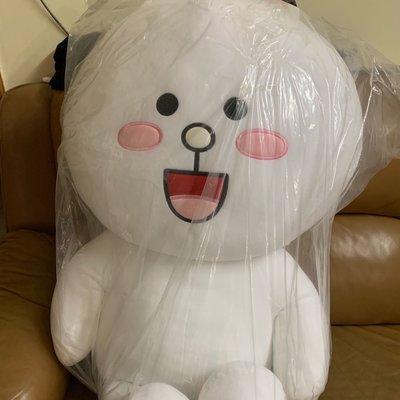罕有巨型 70cm Line Friends 兔兔 可愛 大毛公仔QQ