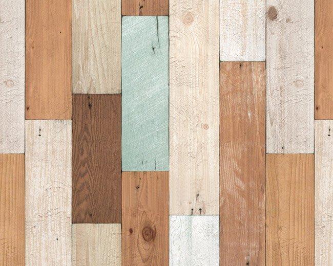 小妮子的家@韓國進口廚房浴室防水DWP-07復古木紋自粘瓷磚貼/牆貼/玻璃家具貼~睿