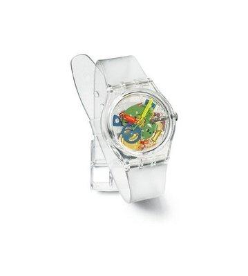 Swatch JELLY PIANO 1999 藝術特別色板手錶果凍鋼琴 (GZ159)  附盒 保証書