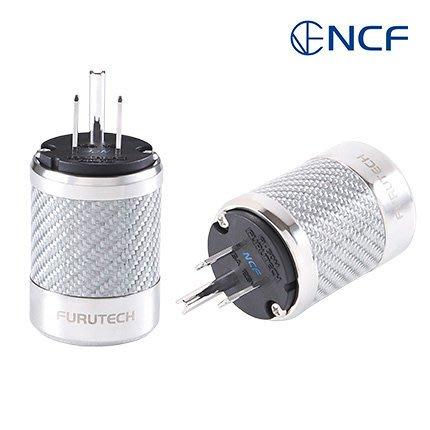 來電優惠【音逸音響】新旗艦!電源插頭》日本 Furutech FI-50M NCF(R) 奈米結晶配方+碳纖維(單顆)