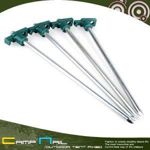 【推薦+】10吋T型尖頭營釘(四入)J19-2(T頭鋼釘.T頭營釘.帳篷釘.露營釘.強化營釘.帳篷地釘)