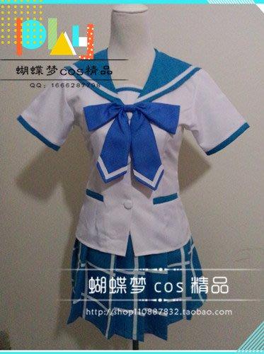 噬血狂襲 姬柊雪菜 彩海學園 女生制服 cosplay送襪子cos服全系服裝