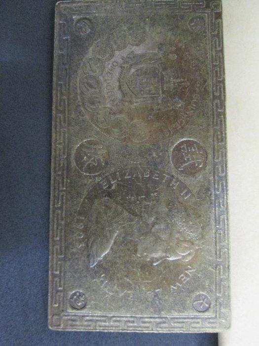(康熙盛世)(大清試板)(銅版)f672--外國幣..1999元起標