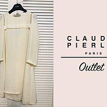 法國輕奢品牌 CLAUDIE PIERLOT 奶油白洋裝