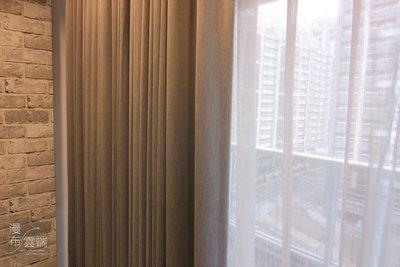 【漫布雲端】新品促銷-高質感 素面素色 髮絲紋 遮光窗簾布羅馬簾門簾~MIT做口碑