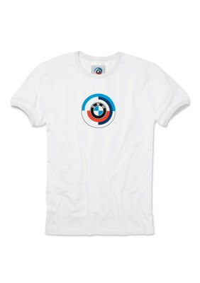 【樂駒】BMW Motorsport 原廠 生活 精品 Heritage 白色T-shirt 短T LOGO 復古 禮品