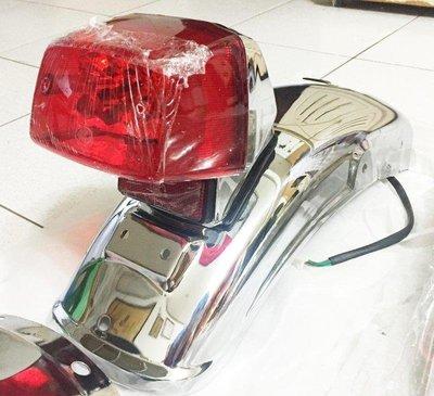 【西風記事本】類SR400 復古尾燈 2.0 煞車燈 CB400SS 愛將 雄獅 野狼 KTR 雲豹 小雲豹 參考