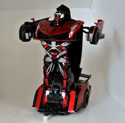 ☆優達團購☆2.4G遙控變形機器人 紅色 TT667 巔峰毒藥 遙控車 變形金鋼 機器人變汽車 充電式 8入4650元 台南市