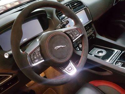 Jaguar F-Pace方向盤編製-...