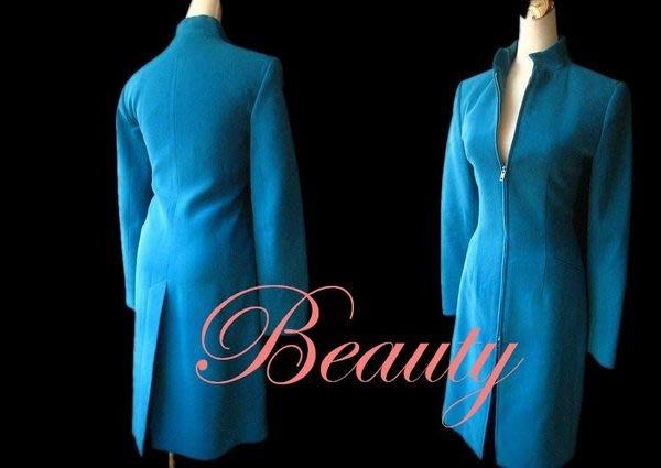 *Beauty*parallel土耳其藍色大衣外套 Made in U.S.A. 約八成新JE