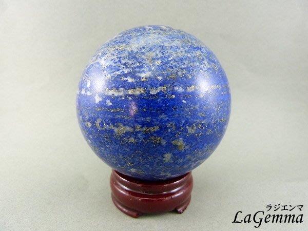 ☆寶峻晶石館☆新貨到~美麗深藍色 青金石球 BG-8 直徑8.6cm 加強表達,溝通能力以及增加說服力、自我信心