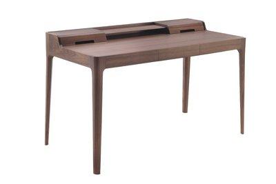 =Mills訂製家具=近原裝 Porada Saffo 造型書桌 辦公桌 電腦桌 實木書桌 工作桌/專業客製