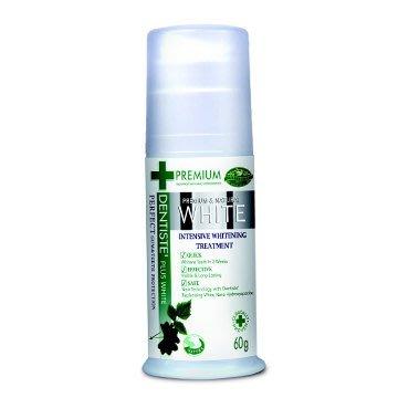 【seven健康小舖】【DENTISTE 〝牙醫選天然淨白優質牙膏Pump(60g)〞】真空按壓瓶
