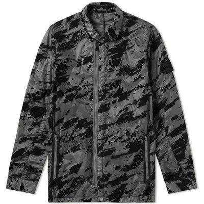STONE ISLAND Shadow Project Lucid Flock Garment Dyed Shirt Jacket  XL號 美品正貨