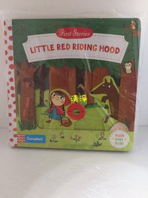 英文版硬頁書  ( First Stories 好棒系列  LITTLE RED RIDING HOOD 小紅帽 )