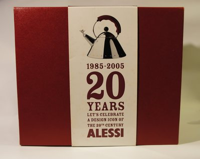 ALESSI - MICHAEL GRAVES 經典作品.紀念 鳥鳴壺發行20週年所出的胡椒研磨器與鹽罐組限量紀念版 新竹市