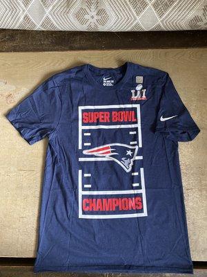 Nike NFL 愛國者隊 17 超級盃冠軍 Super Bowl LI T恤 kobe lebron BRADY JORDAN KD CURRY NBA 牛仔