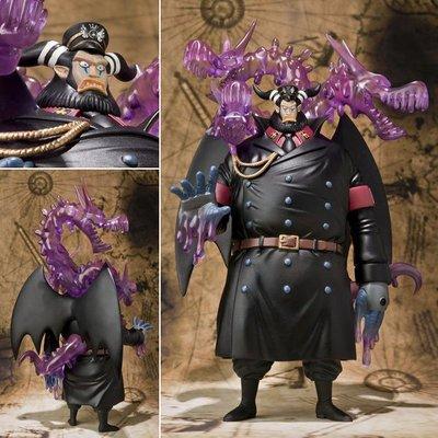 Figuarts ZERO 海賊王 航海王 海底監獄 推進城 署長 毒龍 麥哲倫