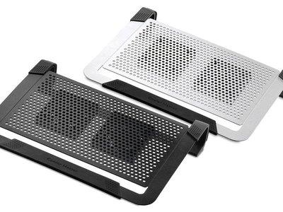 【CoolerMaster酷媽】Notepal U2 Plus筆電散熱墊 附筆電固定套 可調USB風扇 『高雄程傑電腦』