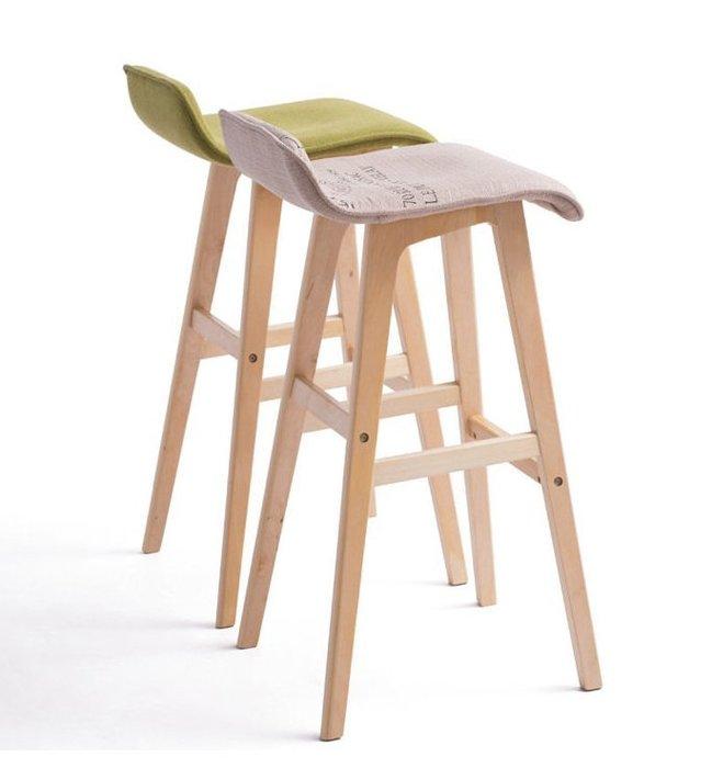 【北歐設計】北歐復刻版吧台椅(多色選擇) 辦公椅 吧台椅 高腳椅 美式鄉村風 餐椅 工業風 休閒椅 設計椅
