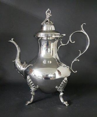 443高檔英國鍍銀壺 Vintage Silverplate Ornate teapot(皇家貴族精品)