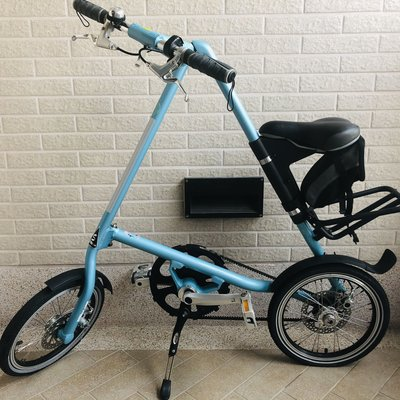 STRIDA 速立達 摺疊腳踏車 稀有車色 薄荷藍 (台灣公司貨)