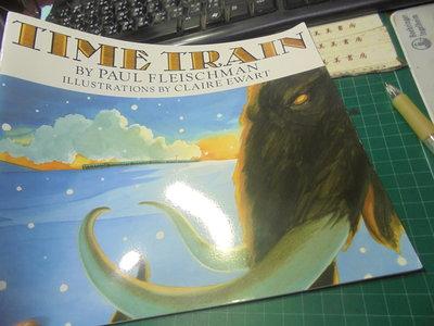 英文平裝讀本閱讀繒本time train伅編52美美書房