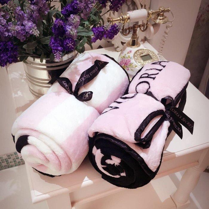 PARIS WOMAN.維多利亞 VS 毛毯 珊瑚絨 空調毯 汽車毯子 午休毯