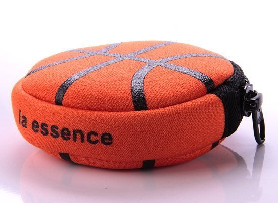 la essence 熱賣商品~ LE-9606N 圓型零錢包(籃球包) 潛水衣布.防震.抗摔.可水洗~