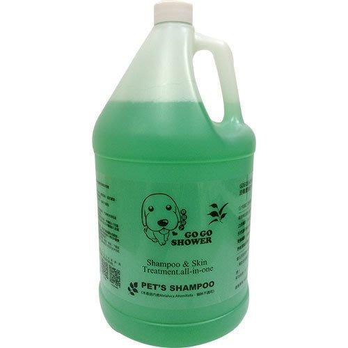 【GOGOSHOWER狗狗笑了】皮膚防護系列-皮膚療效專業沐浴乳_1加侖