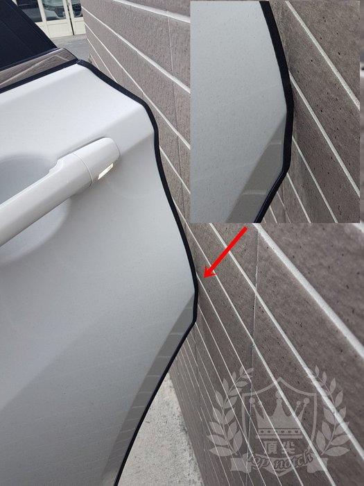 SUBARU速霸陸LEVORG【車門防撞條-卡式】最新款免膠 黑色防撞條 門邊保護防刮條 車用防護條 隔音條 外車側保護