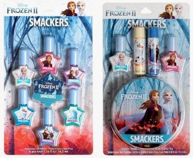 Lip Smacker 限量款 [ 迪士尼冰雪奇緣指甲油組 ] Disney Frozen 兩款可選 全新品