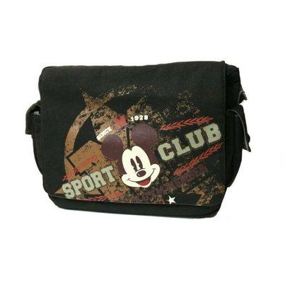 原廠授權 經典米奇 Disney  斜背 手提 筆電包 郵差電腦包 15.6吋 Bag 肩背 舒適背帶 可放雜誌