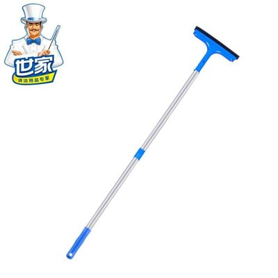 世家清潔衛士擦窗器 刮窗器 擦玻璃器 玻璃清潔器工具伸縮桿