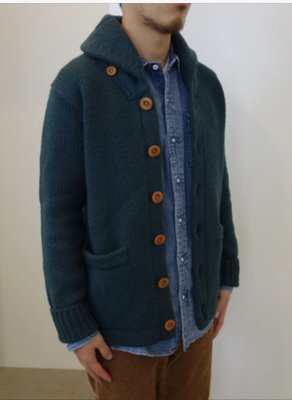 Visvim CARTWRIGHT knit sweater 針織衫外套 size:1